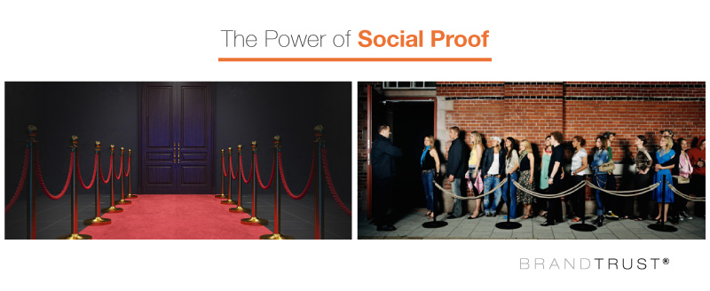 The power of social proof