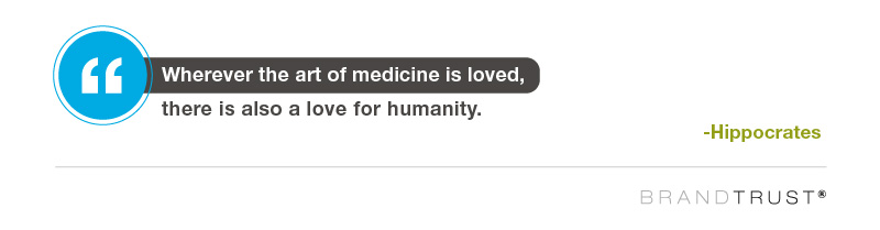Wherever the art of medicine is loved, there is also a love for humanity